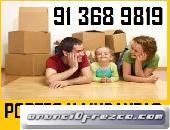 MOVING ECONOMICOS (913)68+98+19 PORTES EN COSLADA MADRID