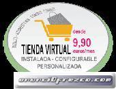 Tienda virtual personalizada e instalada
