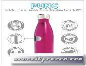 Botellas de acero inoxidable para deportistas PUNC