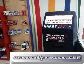 Kiosco fotográfico con muchos más servicios para sus clientes.