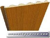 panel sandwich teja / madera
