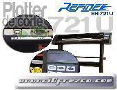 Plotter de corte Refine EH721 usb 63cm pantalla vinilos rotulacion