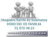 ABOGADOS DERECHO DE FAMILIA BARRIO SALAMANCA MADRID