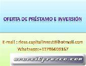 Inversor privado para sus proyectos