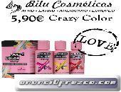Cabello radiante con Crazy Color por solo 5,90€