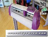 NUEVO plotter de corte Refine CC720 II con lapos para corte de contornos