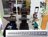 OFERTA Refine DX38 prensa termica economica para personalizar camisetas, puzzles, alfombrillas, azul