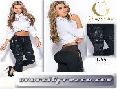 Jeans PushUp Para que Luzcas como Diosa