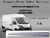 MUDANZA Y PORTES - PALMA - PENINSULA y LIMPIEZA DE CASA