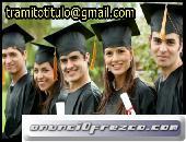 vendo títulos universitarios legales