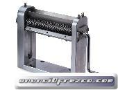 Máquina manual para cortar hojas, hierbas etc. TREZO 160 1,1 V2