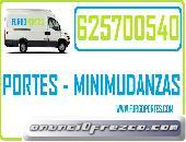 MUDANZAS EN TORREJON DE ARDOZ 62/57/00/5/40 Y PORTES