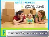 CARGA Y DESCARGA PORTES EN COLMENAR VIEJO 62/5*70/0/5*40 ECONOMICOS