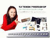Instalación de tienda online Prestashop y plantilla premium a elegir