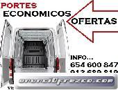 Tarifas ajustadas((MADRID.PORTES))91,,36,,89,,819 En Ciudad Lineal