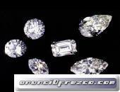 Diamantes cortados sueltos certificados