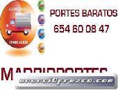Mudanzas(ofertas-competitivas)6,54,6oo8,4x7 portes en chamberi