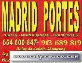 PORTES EL PARDO,POZUELO ALARCON 91(36)89-81.9 RETIRADA DE TRASTOS