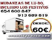 D3SDE..125€MUDANZAS EN POZUELO DE ALARCON, PORTES EN USERA 30EUR