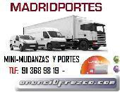 MUDANZAS 60€/HORA(6(54)6.00-847:#ECONOMICAS EN POZUELO DE ALARCON