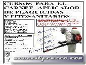 CURSO APLICADOR DE PLAGUICIDAS Y FITOSANITARIOS