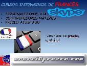 ¡Cursos de francés por Skype!