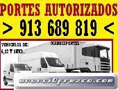 MUDANZAS/PORTES BLUSPACE/PISOS.6(5:46)OO8:47BARATOS/AS EN MADRID