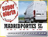 Madridportes low cost,movimientos internos/portes en centro,ascao
