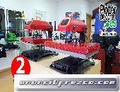 Prensa termica SX60 Air neumatica giratoria profesioanl 40x60 cm
