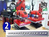 OFERTA prensa termica SX38 resistencia giratoria 38x38 cm vinilo transfer sublimacion