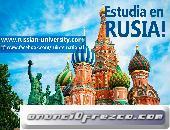 ESTUDIA EN LAS MEJORES UNIVERSIDADES DE RUSIA