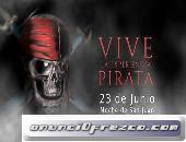 Espectáculo Piratas Experience noche San Juan