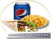 Kebab Pack te ofrece el Menu Durum y te lo llevamos a domicilio