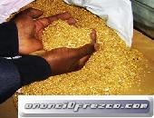 Venta de Polvo de oro stock disponible es de 300 Kg.