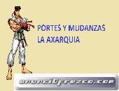 OFERTAS EN PORTES Y MUDANZAS LA AXARQUIA
