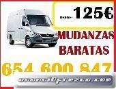 CEL=654 6OO 8.47 CONSIGUE MUDANZAS ECONOMICAS EN BARRIO DEL PILAR