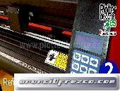 Plotter de corte Refine EH721 con signmaster programa en español con opciones de diseño