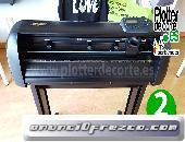 Plotter de corte Refine CC720 63 cm con laser de posicionamiento corte de contornos
