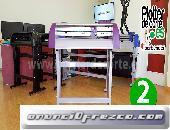 Plotter de corte Refine CC 720 II lapos laser de posicionamiento pegatinas rotulos