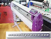 Plotter de corte 126 cm ancho corte Refine CC1350 II con laser de posicionamiento profesional 4