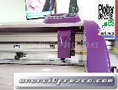 Plotter de corte 126 cm ancho corte Refine CC1350 II con laser de posicionamiento profesional 5