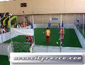 Pistas de fútbol 3x3 rigidas de segunda mano