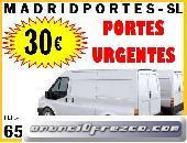 FLETES BARATOS EN TU ZONA 65#460#0847 PORTES EN FUENCARRAL