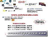 OFERTA KIT VIDEOVIGILANCIA IP WIFI HD