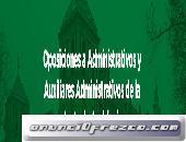 Curso Oposición Auxiliar Administrativo Junta de Andalucía
