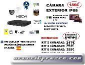 Kit Videovigilancia Exterior HD