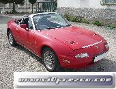 Mazda mx5 na, color rojo, 115cv