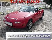 Mazda mx5 na, color rojo, 115cv 2