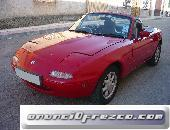 Mazda mx5 na, coche descapotable, clasico miata, 1600cc