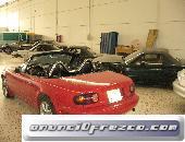 Mazda mx5, coche rojo, con 1600cc 2